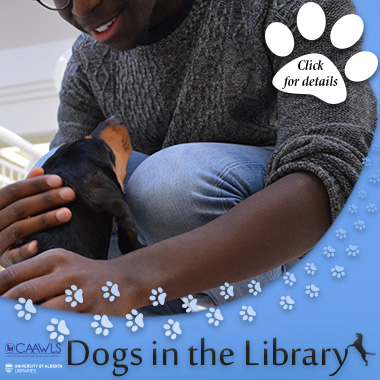 dogs in the library