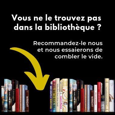 Image pour promouvoir la recommandation de livres