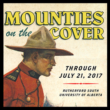 Mounties on the cover exhibit